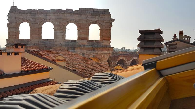 La Finestra sull'Arena (Verona) - scorcio